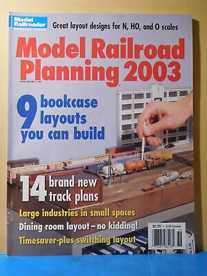 Model Railroad Planning 2003 Large Industries Small spaces Switching Layout  Trac | eBay