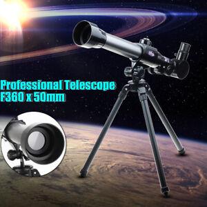 40X-HD-Nachtsicht-Astronomische-Teleskop-Kinder-Monokular-Stativ-mit-2-Okular