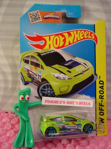 Funda L/m 2015 me Hot Wheels'12 Ford Fiesta # 78 ∞ Sublime Verde/azul; 21 ∞ Road Rally