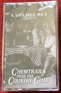 LANA DEL RAY CHEMTRAILS OVER THE COUNTRY CLUB CASSETTE NEW & SEALED