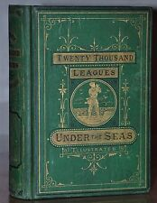 1873  1ST EDITION~TWENTY THOUSAND LEAGUES UNDER THE SEAS ~ JULES VERNE