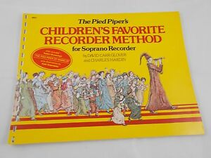 The-Pied-Piper-039-s-Children-039-s-Favorite-Soprano-Recorder-Method
