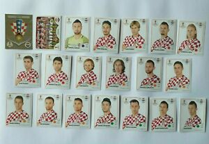 Panini-WM-2018-Kroatien-Croatia-Team-Complete-Set-World-Cup-WC-18