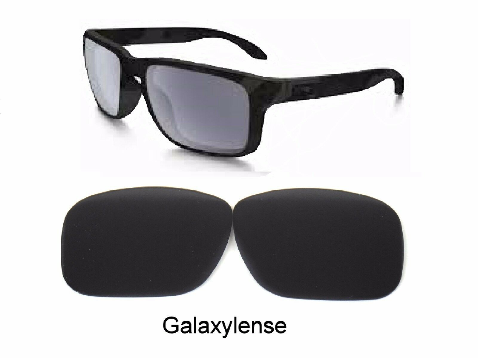 a9d3629ccd Galaxy Replacement Lenses for Oakley Crossrange Sunglasses Black ...