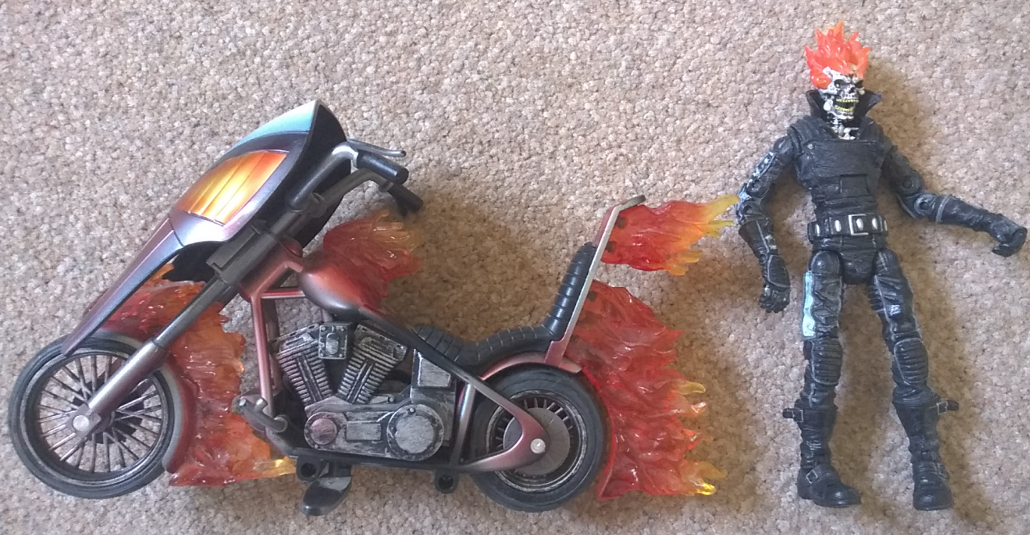 Marvel Legends series 7 Ghost Rider 6 inch figure rare