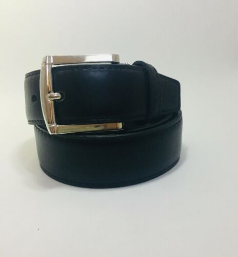 "Genuine Leather Belt Black//Brown hidden Mens Travel Money Belt With 15/"" Zipper"