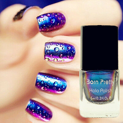 6ml Born Pretty #217 Chameleon Nail Art Polish Tool (Black Base Color Needed)