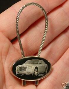 FäHig Chrysler 300 C Schlüsselanhänger 300c Gravur Automobilia Accessoires & Fanartikel