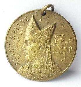 Medal-Britain-Saint-Brieuc-Brioc-Monk-Breton-c1920-a-J-Corbierre-22mm-Medal