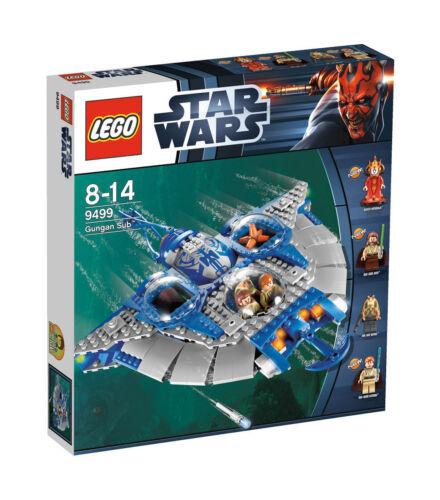 1 von 1 - LEGO StarWars Gungan Sub (9499)