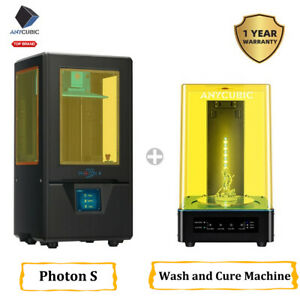 ANYCUBIC-Wash-and-Cure-Machine-All-in-one-mit-Photon-S-SLA-3D-Drucker-UV-Resin