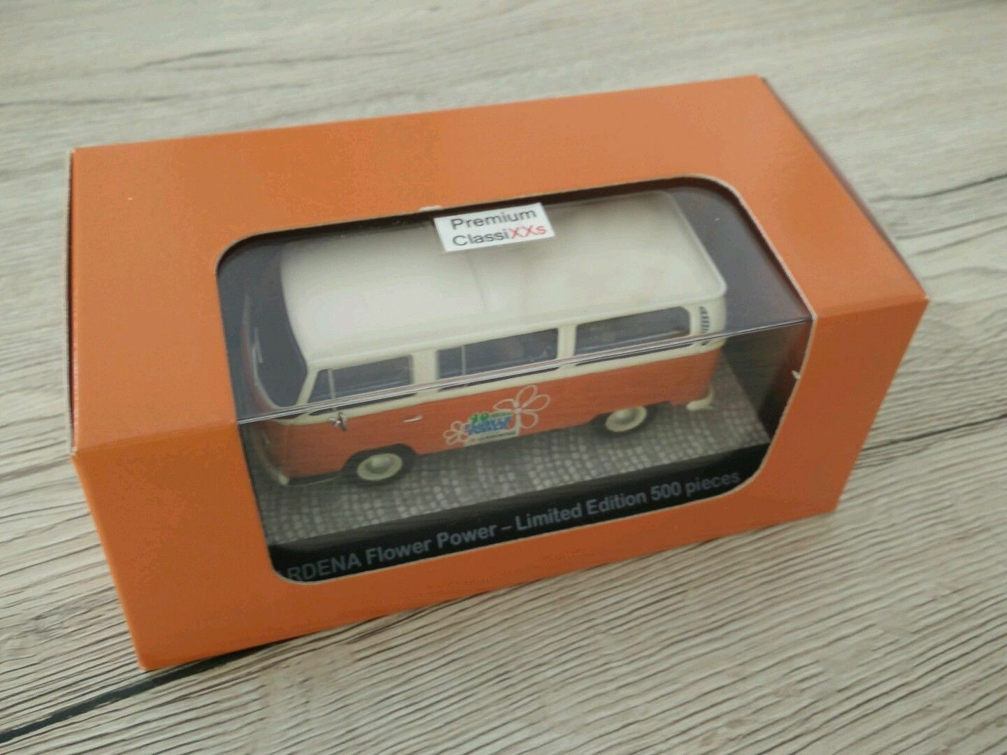 SCARCE PREMIUM CLASSIXXS VW T2 VAN GARDENA 40 YEAR ANNIV PROMO 1 43 NEW 1 OF 250