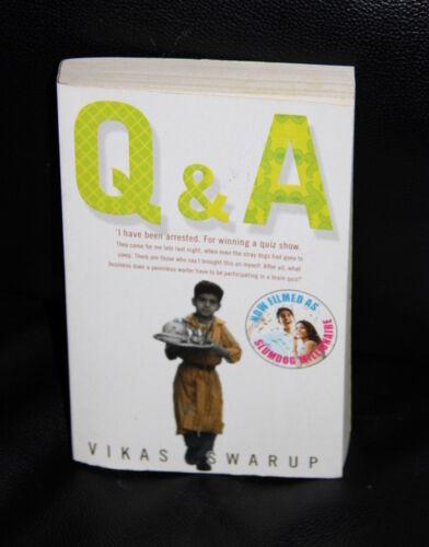 1 of 1 - Book by VIKAS SWARUP - Q&A - Now a film titled Slumdog Millionaire
