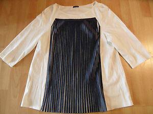 Blau Chices Sj116 Pennyblack 4 Gr Xl Ärmel Creme 3 Plissefalten Shirt n0wSUwxqp