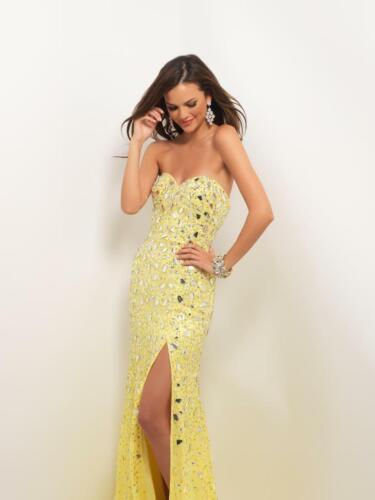 80% off Prom Dress BLUSH PROM 9589 Color: Lemon Si