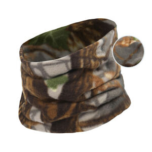 Details about  /Camo Thermal Fleece Winter Neck Gaiter Warmer Cycling Ski Hunting Half Face Mask