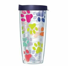 Pineapple Emblem Traveler 16 Oz Tumbler Cup with Clear Lid Signature Tumblers