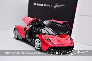 autoart 1:18 pagani huayra red | ebay
