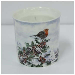 Christmas-Robins-Fine-China-Candle-Holder-with-Scented-Candle