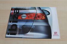 119664) Seat Ibiza - Farben & Polster - Prospekt 09/2003
