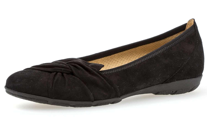 Gabor bailarina en talla extragrande grandes zapatos de XXL mujer negro XXL de 6c98f0