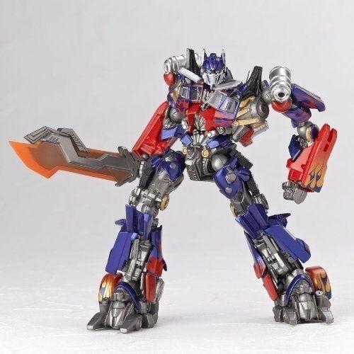 Sci-fi revoltech Transformers jetwing ver optimus prime by ooshima yuuki NIB