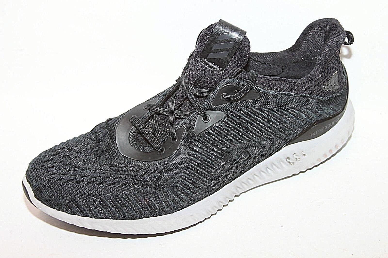 Zapatillas de deporte adidas Alphabounce EM M R Core Negro Gris Hombres Zapatillas BY4264 Sz 10