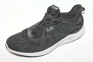 44593c089d0bf adidas Alphabounce EM M R Core Black Grey Men Running Shoes Sneaker ...