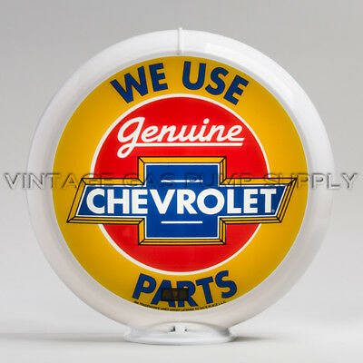 "Red 13.5/"" Plastic Gas Pump Globe Frame"