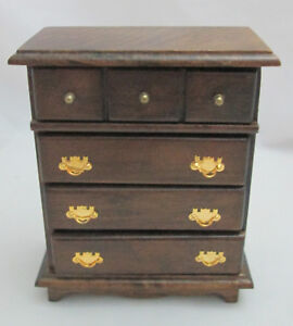 12th Scale 4 Drawer Chest Of Drawers