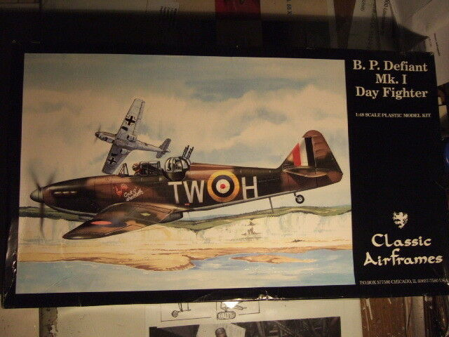 1 48 scale B.P. DefiantMk I Day Fighter  Classic Airframes Kit N° 471