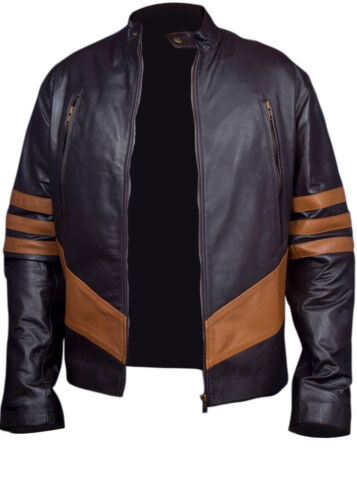 Real men Leather X Synthetic Jacket Xo Wolverine Logans wvxI6Z