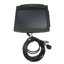 """NCR RealPOS 5964-7602 Point of Sale LCD 15/"""" Touch LCD Monitor with Stand"""
