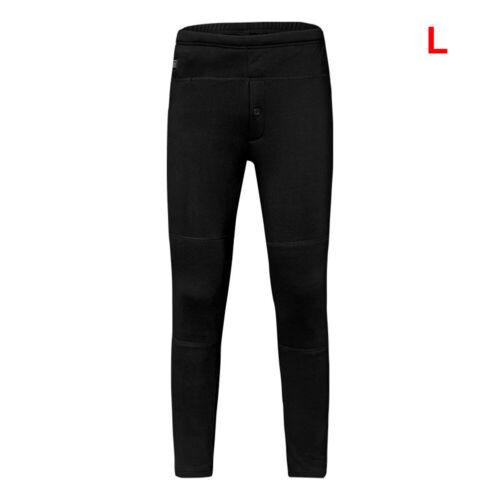 Men Women USB Electric Heated Trousers Knee Heating Pants W// Pocket Winter Warm