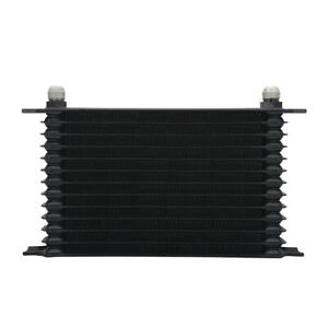 13-Rows-Black-Power-Coated-Aluminum-Engine-Transmission-Oil-Cooler-Cooling-50F
