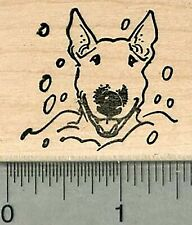 Halloween Trick or Treat Dog Rubber Stamp Dogs in Costumes  K18802 WM