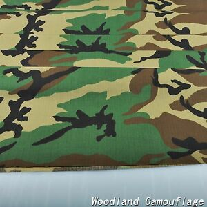 375a3aa5ad389 Woodland Camouflage Cotton Blend Army 60