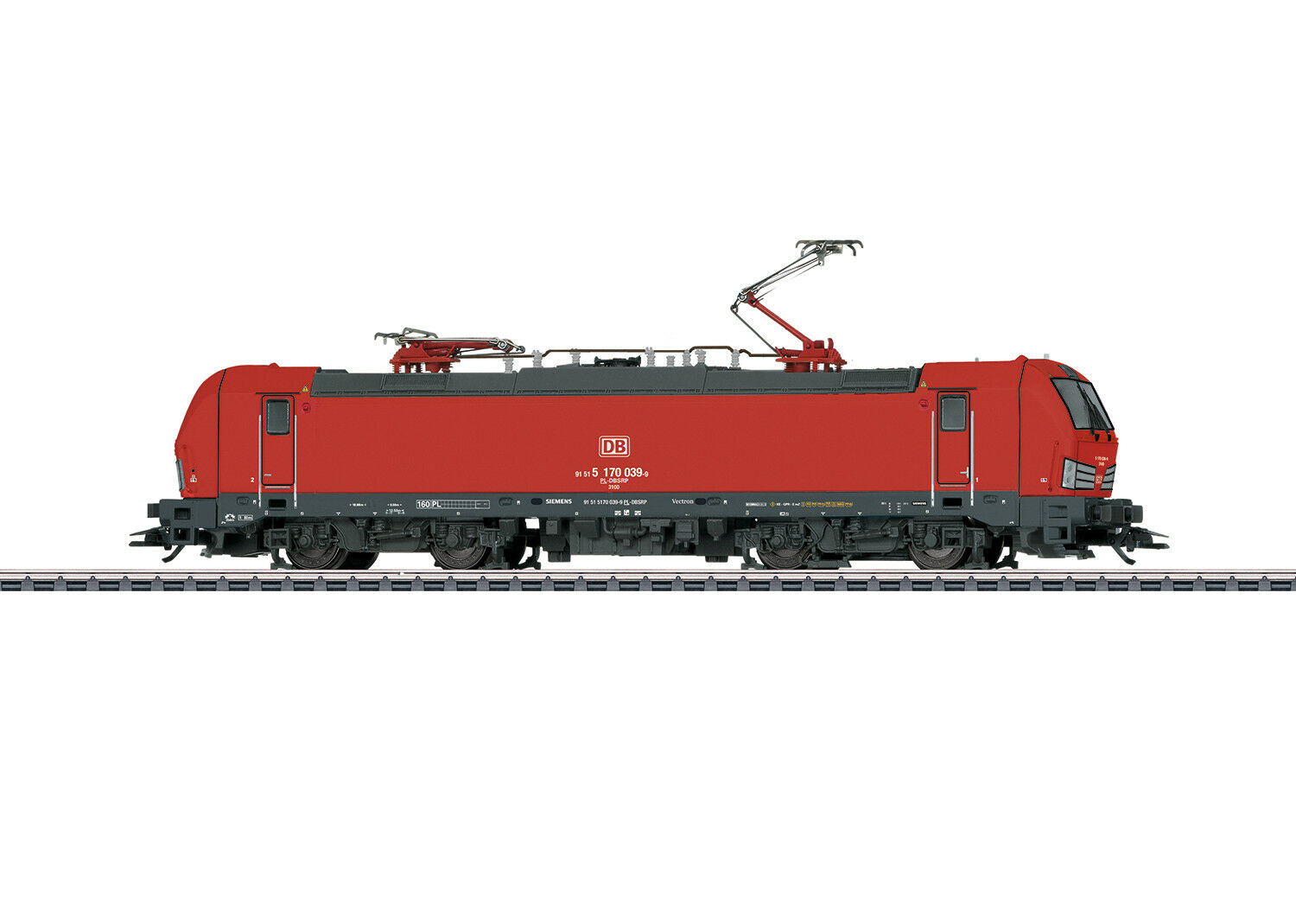 36197 BR 170 Vectron DB Schenker Rail mfx Digital SOUND-Novità 2018