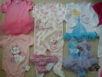 Amazingnew Bundle Outfits Summer Baby Girl Clothes 9/12 Mths(1.8)nr419