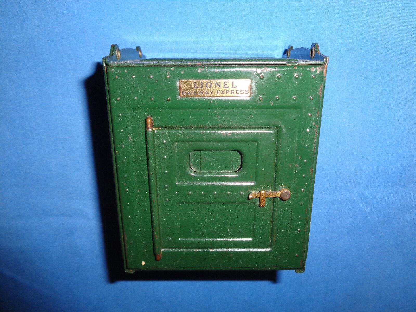 Container för Lionel ståard Gage