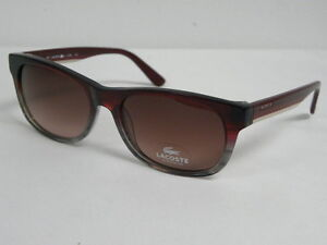 Lacoste L736S 615 Red Grey Striped MSRP  120 Sunglasses L 736 S  9d7c3e6623