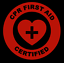 CPR-First-Aid-Certified-Emblem-Vinyl-Decal-Window-Sticker-Car thumbnail 2
