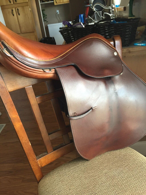 16 inch  Moritz England English saddle  no hesitation!buy now!
