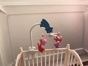 Barbie Happy Family Midge Play All Day Nursery Crib Baby ...