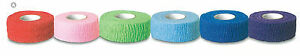 Full-CASE-30-ROLLS-1-034-COBAN-TYPE-BANDAGES-ASSORTED-COLORS