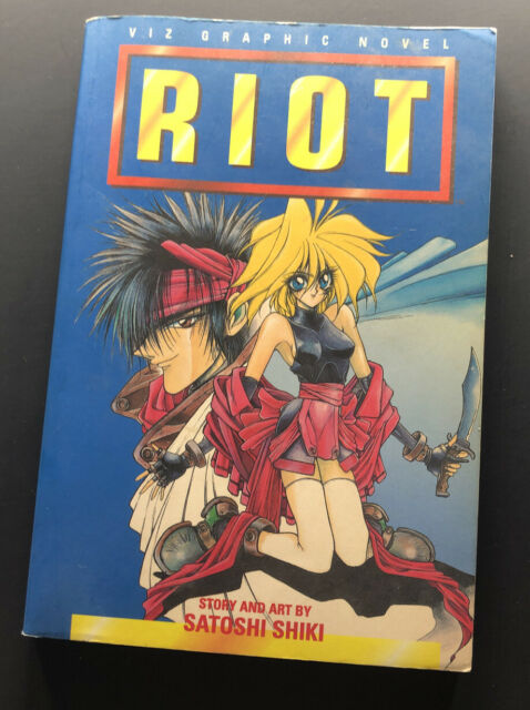 RIOT, VOLUME 1 By Satoshi Shiki **Great  Condition**