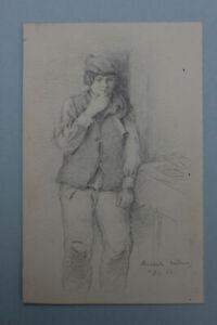 Oskar-von-Alvensleben-Zuschreibung-Figurenstudie-eines-Knaben-Madeira-1862