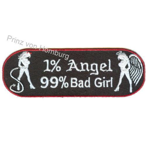 NUOVO 1/% Angel 99/% BAD GIRL PATCH RICAMATE di alta qualità ricamati in Germania