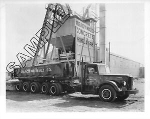 Details about Late 1940s MACK LFSW & 3-Axle DUMP TRAILER, S H BACON, Los  Angeles,CA 8x10 Photo