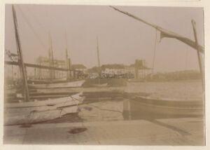Port Da Toulon Francia Foto Amateur N1 Vintage Citrato Verso 1905
